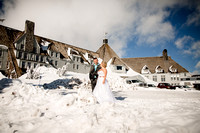 Tracey & Derik -Timberline Lodge, OR