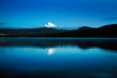 Olallie Lake and Mt. Jefferson, Oregon