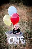 Jaxson 1 year Photo Shoot